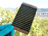 Organisches Photovoltaikmodul mit 6% Wirkungsgrad